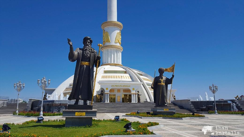 2-7 turkmenistan asgabat indepence park