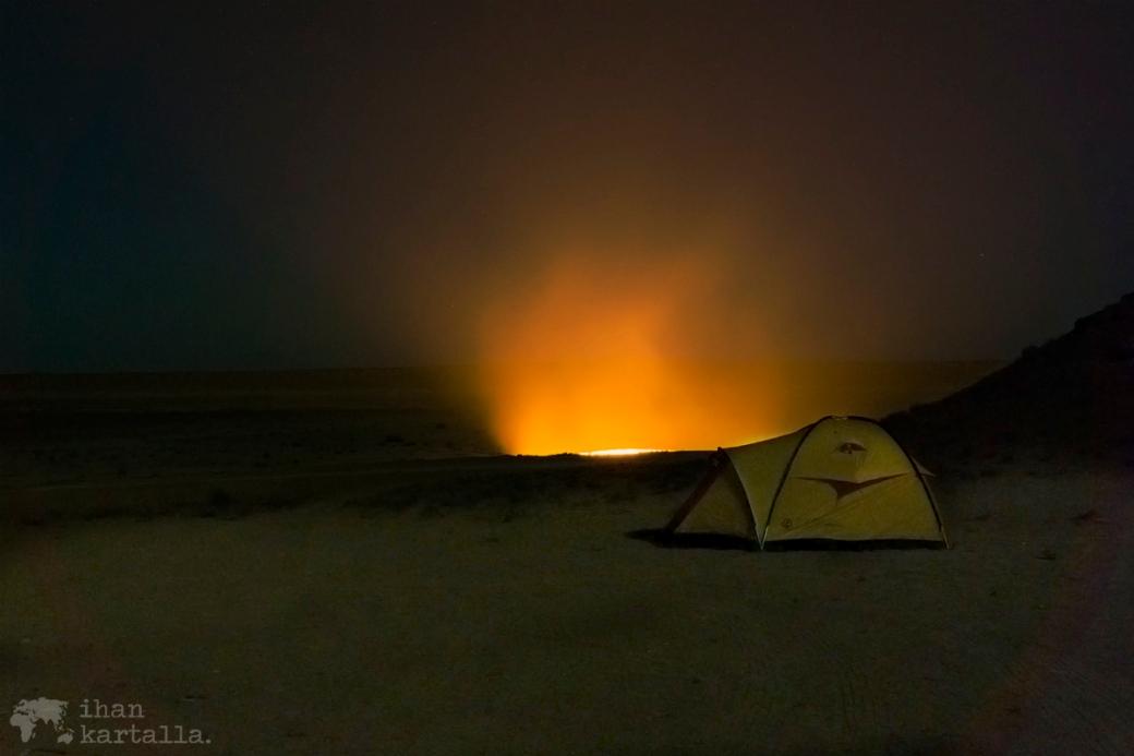 3-7 turkmenistan darvaza camping