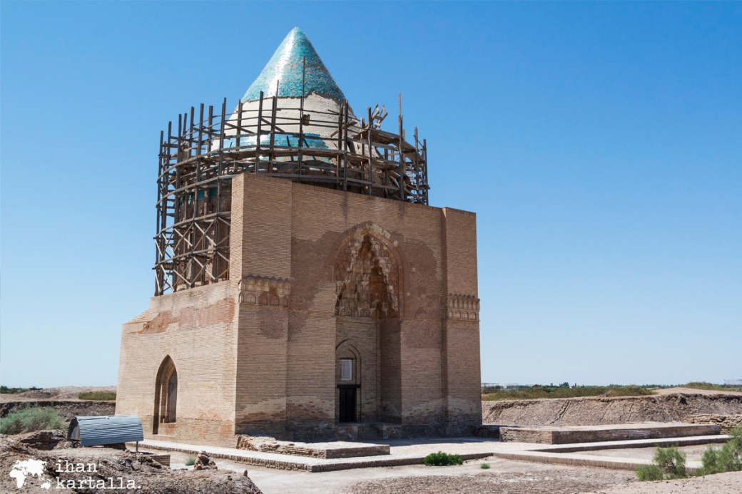 4-7 turkmenistan konye urgench Tekesh Mausoleum