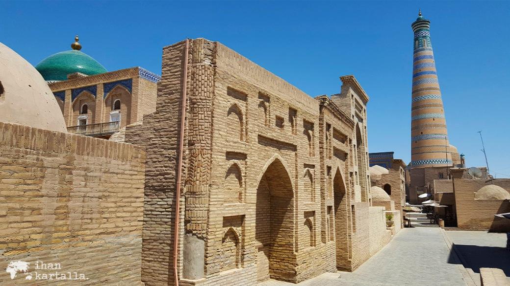 5-7 uzbekistan khiva islam khodja minaret