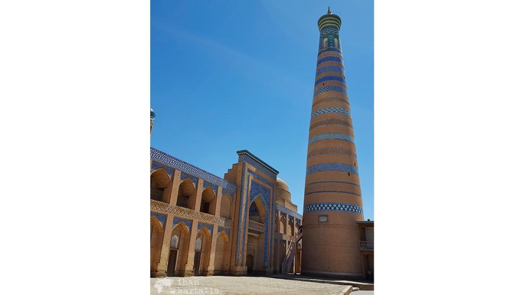 5-7 uzbekistan khiva islam-khodja minaret