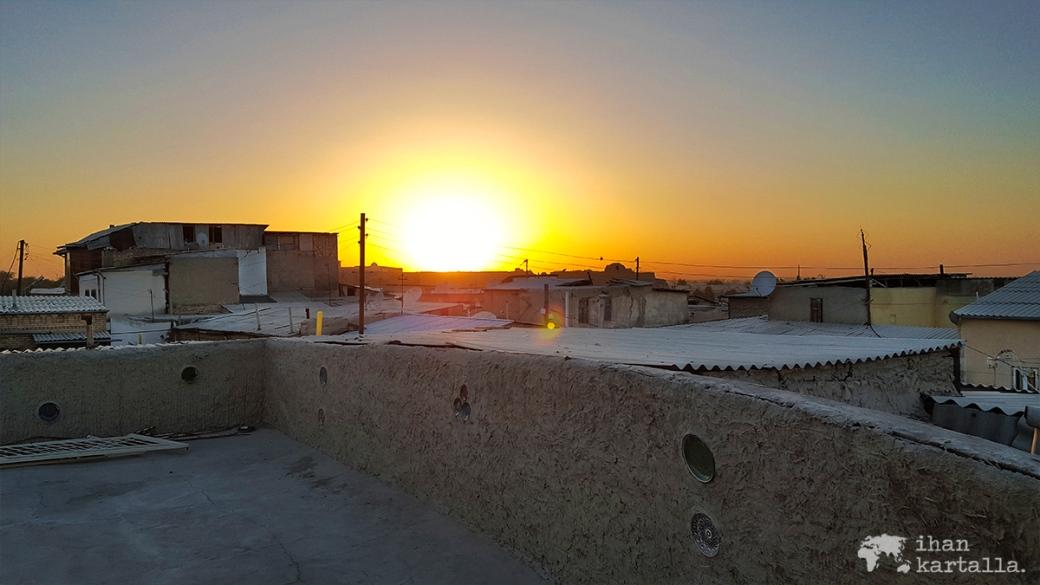 6-7 uzbekistan bukhara sunset
