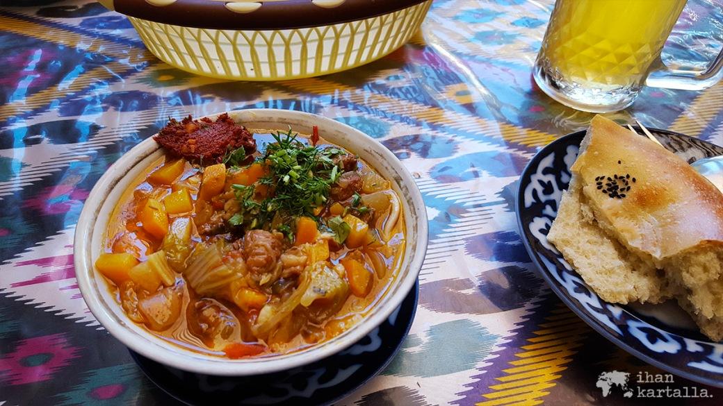 7-7 uzbekistan samarkand lunch