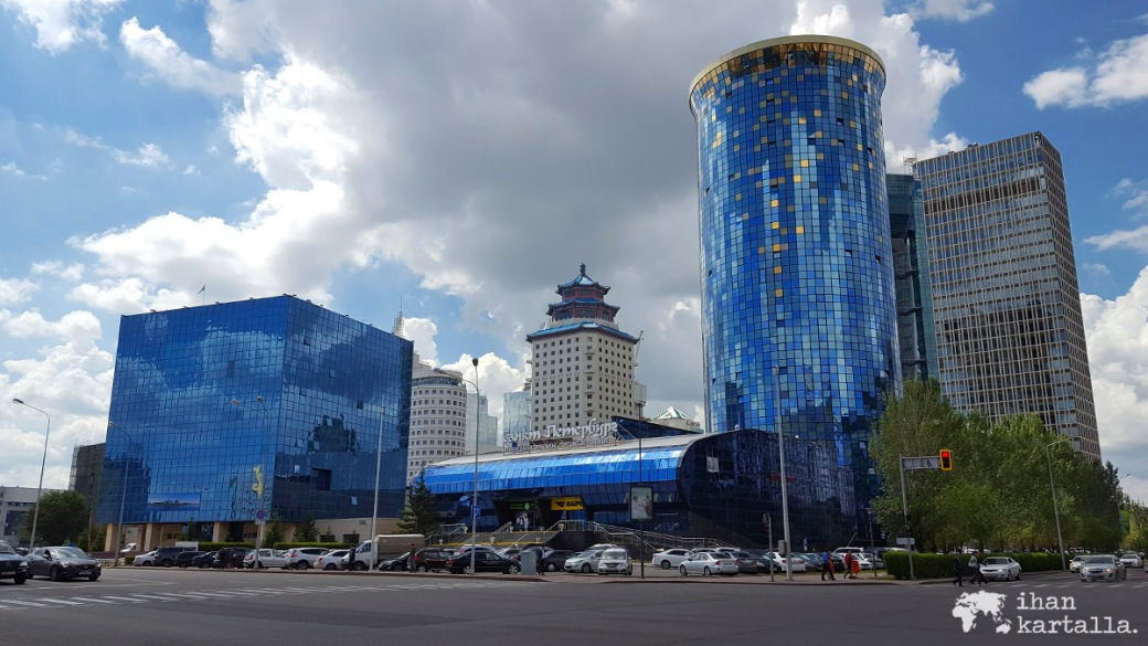 19-7 kazakstan astana blue buildings
