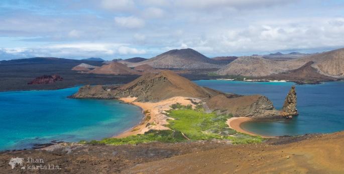 galapagossaaret pinnacle rock bartolome